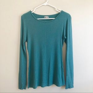 Intimately Free People thermal thumbhole Top
